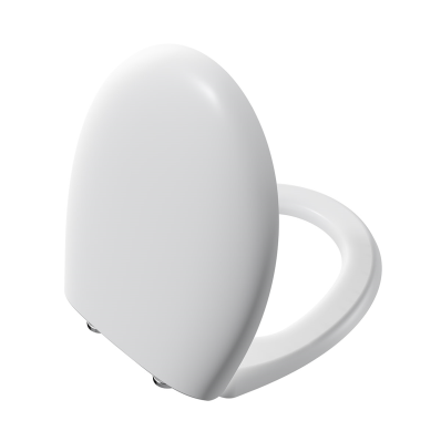 Memoria Toilet Seat, Soft Closing, Matt White