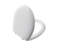 106-003-009 - Memoria Toilet Seat, Soft Closing, White