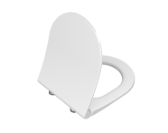 110-003-019 - Universal Slim Wc Seat Model 2 - Round Form  (Duroplast, Soft-Closing, Detachable Metal Hinge, Top Fixing)