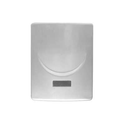 Infrared Electronic Urinal Flusher, Matt Chrome, Mains Operated