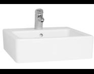 4077B003-0001 - Nuovella Washbasin, 50 cm