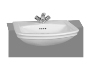 4170B003-0002 - Serenada Semi-Recessed Basin, 1th, 56 cm