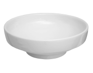 4334B003-1361 - Water Jewels Circular Bowl, 40 cm, White