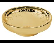 4334B072-2100 - Water Jewels Bowl, 40cm