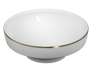 4334B072-2300 - Water Jewels Bowl 40 cm Gold Lined