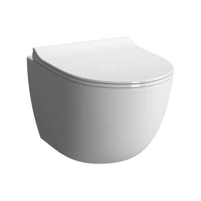 Sento Short Wall-Hung Wc Pan