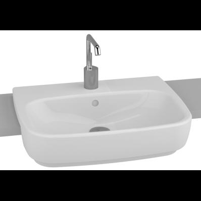 Shift Semi-Recessed Basin, 55 cm