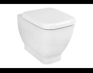 4393B003-0075 - Shift Floor Mounted Single WC Pan without Bidet Pipe