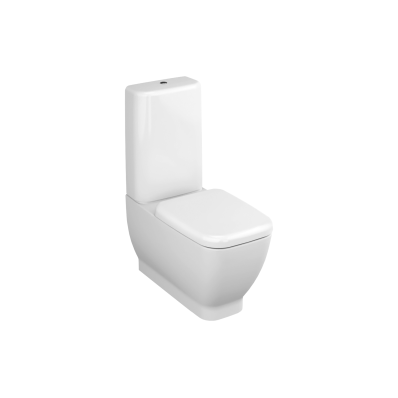 Shift Fully Back-to-Wall Close-Coupled WC Pan