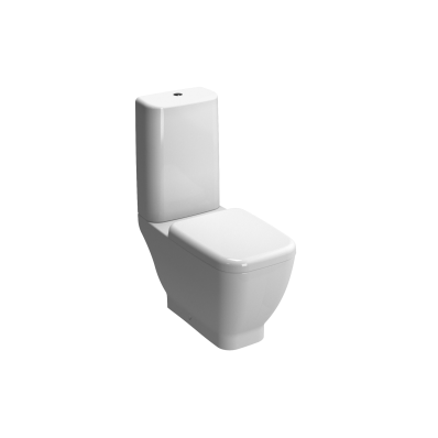 Shift Open Back Close-Coupled WC Pan