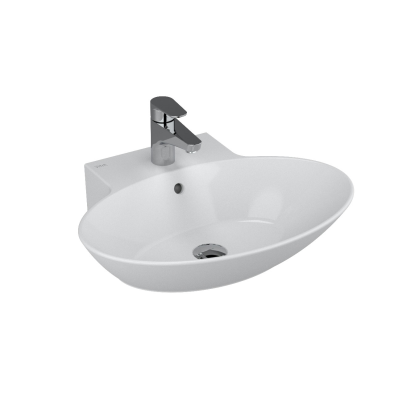 Geo Ellipse Washbasin, 60 cm