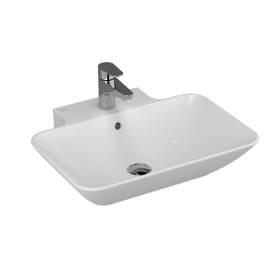 Geo Rectangular Washbasin, 60 cm