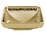 4441B072-2100 - Water Jewels Square Bowl, 40cm