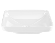 4442B003-1361 - Water Jewels Rectangular Bowl, 60 cm, White