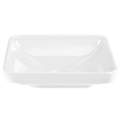 Water Jewels Rectangular Bowl, 60 cm, White