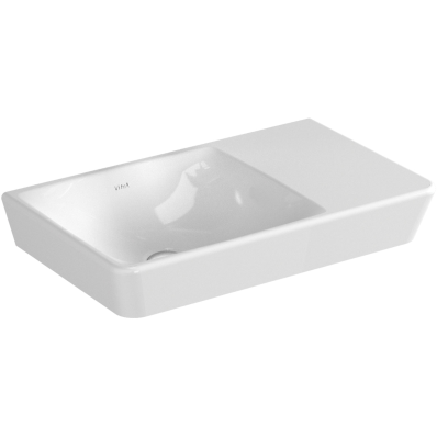 T4 Washbasin, without Overflow Hole, 50x30 cm