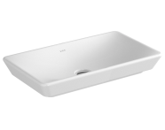 4461B003-0016 - T4 Countertop Washbasin, without Overflow Hole, 60 cm