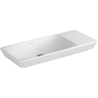 T4 Countertop Washbasin, without Overflow Hole, 80 cm