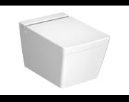 4464B003-0075 - T4 Wall-Hung WC Pan without Bidet Pipe