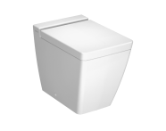 4465B003-0075 - T4 Back-To-Wall Single WC Pan without Bidet Pipe