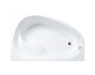 50780002000 - Optima 150x100 cm Offset Bathtub, Left