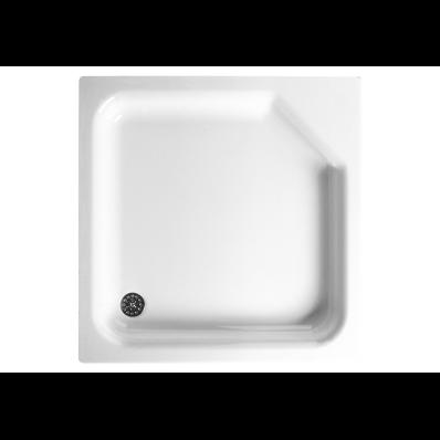 Optimum 70x70 cm Kare Flat(Ayaklı Ve Panelli) Duş Teknesi