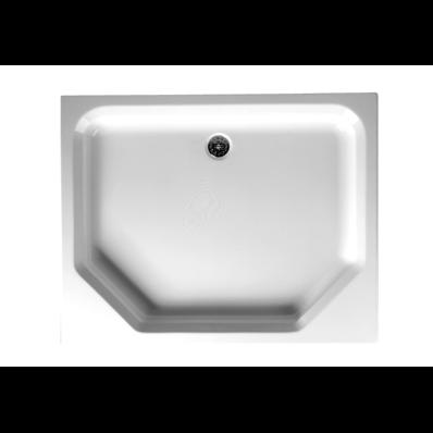 Optimum 100x80 cm Dikdörtgen Flat(Ayaklı Ve Panelli) Duş Teknesi