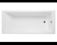 52520001000 - Neon 160x70 cm Rectangular Bathtub