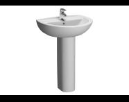 5270L003-1093 - Layton Cloakroom Basin, 2th, 45 cm