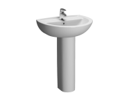 5273L003-1093 - Layton Washbasin, 2th, 60 cm