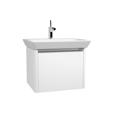 T4 Washbasin Unit, 60 cm, Hacienda Brown