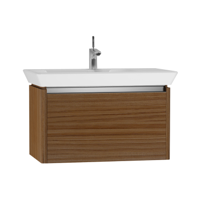 T4 Washbasin Unit, 80 cm, Hacienda Brown