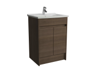 52980 - S50 60cm floor-standing washbasin unit including 5407 basin, 1TH