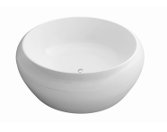 52980095000 - Istanbul 160 Ø Round Air Relax, 24  Led, 24  Led