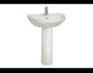 5302L003-0999 - S50 Round Washbasin, 60 cm