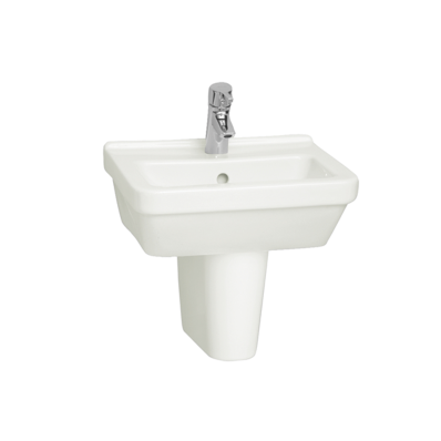 S50 Square Cloakroom Washbasin, 45 cm