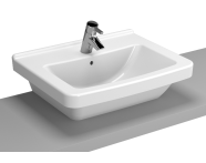 5310B003-0973 - S50 WashBasin, 60cm with Middle Tap Hole, with Side Holes, Bowl