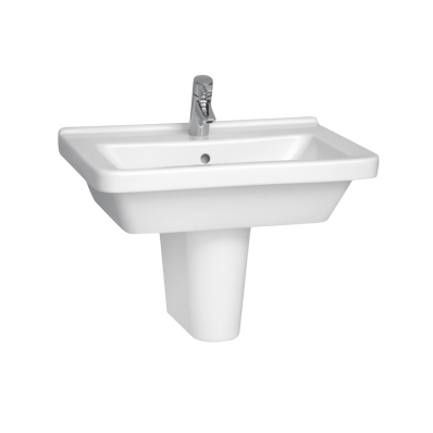 S50 Square Washbasin, 65 cm