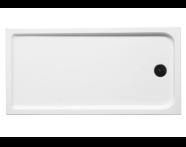 53240005000 - Kimera 160x80 cm Dikdörtgen Flat(Ayaklı ve Panelli) , Ayak, Sifon