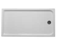 53250004000 - Kimera 170x90 cm Dikdörtgen Flat(Ayaklı ve Panelli), Ayak