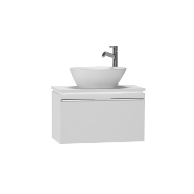 System Fit Washbasin Unit, 60x34x37 cm, High Gloss White