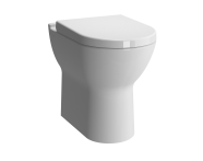 5369L003-0075 - S50 Comfort Height Back-to-Wall WC Pan