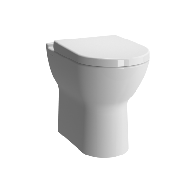 S50 Comfort Height Back-to-Wall WC Pan
