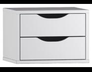 54020 - System Fit Boy Dolabı Aksesuarı, 2'li Çekmece
