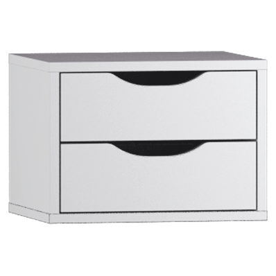 System Fit Tall Unit Accessory- 2 Drawers