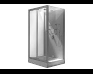 54156003000 - Cubido Compact System 120x90 cm, U Wall, System 6