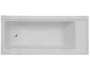 54320007000 - 4 Life Pure 180x80 cm Dikdörtgen/Tek Taraflı, Ayak, Panel, Kumandalı Sifon