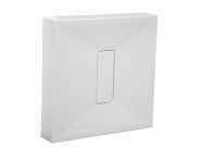 54520027000 - Slim 100x100 cm Kare Monoblok, Krom Gider Kapağı