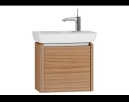 54538 - T4 Compact Washbasin Unit 50cm (Right), Hacienda Brown