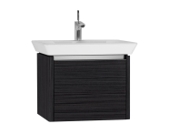 54557 - T4 Washbasin Unit 60cm, Hacienda Black